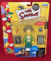 The Simpsons: Edna Krabappel - World of Springfield Interactive Figure - Sealed On Card